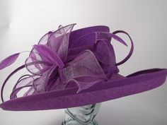 Snoxell Gwyther - Hat (Purple) - Occasion Hats | Occasion Hats