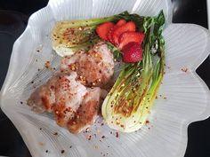 Fűszeres nyúlcomb éspak choi Pak Choi, One Pot Meals, Chili, Chicken, Meat, Food, Chile, Chilis, Eten