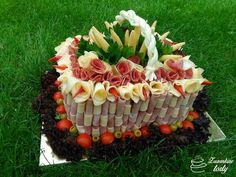 Slaná košík Salty Cake, Acai Bowl, Sushi, Breakfast, Ethnic Recipes, Cakes, Cold, Acai Berry Bowl, Morning Coffee