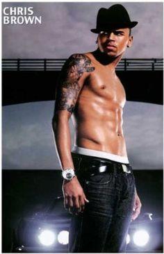 Amazon.com: Chris Brown - Shirtless - 11x17 Poster: Home & Kitchen