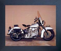 Old Classic Harley-Davidson Motorcycles Classic Harley Davidson, Used Harley Davidson, Harley Davidson Motorcycles, Harley Panhead, Harley Davidson Knucklehead, Motorcycle Posters, Motorcycle Art, Motorcycle Garage, Poster Prints