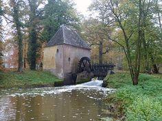 Vorden, castle Hackfort, water mill