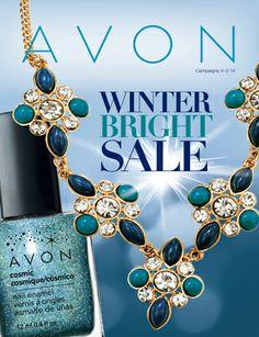 Winter Bright Sale Campaign 4 / 5 - view Avon Campaign 4 2014 online catalogs at http://eseagren.avonrepresentative.com