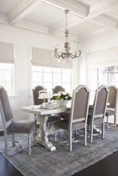 Chairs, color, style, nail heads.  Barstools?