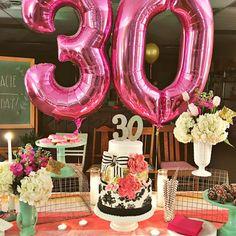 "natalie freeman on Instagram: ""Happy 30th birthday, Stacie @gingiber!!!! We love you!!  #30flirtystacie"""