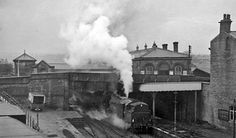 Brighouse railway station 1961