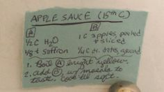 APPLESAUCE WITH DATES#fruit #medieval
