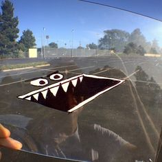 Marty Cooper- transparency doodles & animations.                                      Parking Space-monster #parkatyourownrisk #augdementedreality #sharpie #whiteout