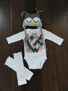 Baby bird owl girl halloween costume Carter's etsy newborn months, gotta make this! Newborn Halloween Costumes, Halloween Bebes, First Halloween, Baby Costumes, Diy Halloween, Toddler Halloween, Primer Halloween, Baby Girl Fall Outfits, Girl Outfits