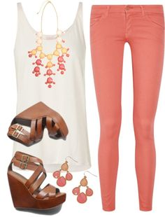 """Pink Ombre"" by qtpiekelso on Polyvore"