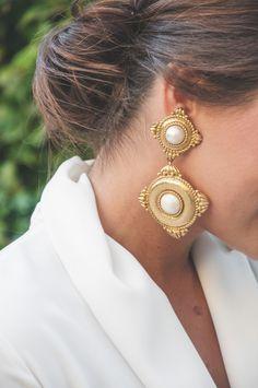 earrings YSL - accesorios - look de invitada - bodas - Loreto Gordo - 24 FAB