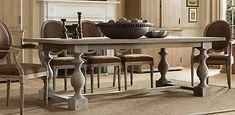 restoration hardware monastery table