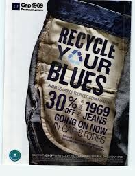 LEMPART: GAP campaign to recycle their jeans. Good idea to educate consumer and make it easier for the consumer to recycle