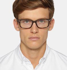 7c577019eb Men s Designer Glasses. Kingsman - + Cutler and Gross Square-Frame  Tortoiseshell Acetate Optical Glasses