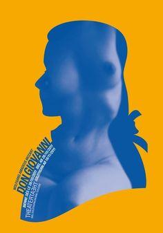 Stephan Bundi, graphic design, illustration, poster, yellow