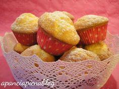 Muffins sofficissimi alla panna (ricetta tradizionale e bimby)