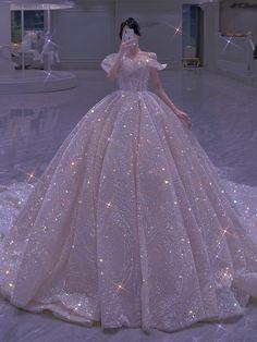 Princess Ball Gowns, Princess Outfits, Princess Wedding Dresses, Pretty Quinceanera Dresses, Pretty Wedding Dresses, Pretty Dresses, Prom Girl Dresses, Ball Dresses, Bridal Dresses
