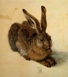 Albrecht Dürer - Ein Feldhase