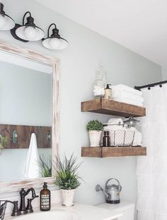 Awesome 90 Best Lamp For Farmhouse Bathroom Lighting Ideas https://roomadness.com/2018/01/14/90-best-lamp-farmhouse-bathroom-lighting-ideas/ #FarmhouseLamp