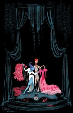 """During her tenure as a Disney Animation artist, Claire Keane envisioned a version of Frozen's Snow Queen, Elsa, who was """"based on Bette Midler's showgirl stage Art Disney, Disney Concept Art, Pixar Concept Art, Disney Movies, Claire Keane, Character Concept, Character Art, Estilo Disney, Arte Do Kawaii"""