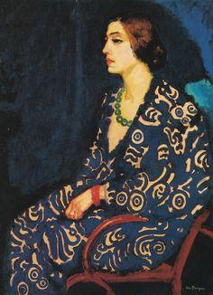 Van Dongen, Guus en bleu, (1910)