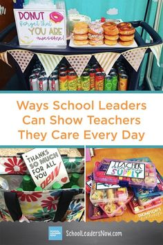 Simple But Effective Ways School Leaders Can Show Teachers They Care Every Day. In order to be effective educators teachers need to feel appreciated. Fortunately there's a lot principals can do to show their teachers they care. Up Teacher, Teacher Appreciation Gifts, Teacher Gifts, Summer Activities For Toddlers, Feeling Appreciated, School Leadership, Starbucks Gift Card, Becoming A Teacher, School Staff