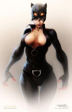 Mulher-Gato (em inglês Catwoman ) é o alter ego de Selina Kyle , uma personagem de HQs , inimiga de Batman , que foi criada em ...