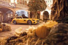 Orange is the new... you get the idea.  Photo by @srcreativity  #GT #Europapark #spooky by mercedesbenz