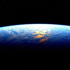 """Today is the day! Astronaut Scott Kelly (@StationCDRKelly) returns to Earth from his YearInSpace mission aboard the space station (@ISS). He posted this image and wrote """"Earth. I'm coming for you.""""  by nasa"""