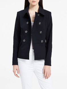 cotton double breasted jacket from Calvin Klein