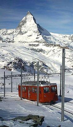 Près du Mont Cervin. Suisse.