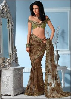 Indian Saree Collection | For more collection visit www.prafful.com