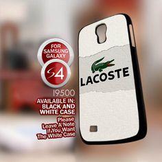 Lacoste Logo. AF for Samsung Galaxy S4 case