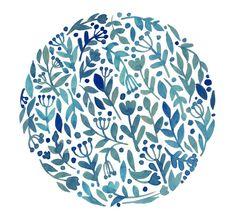 Схема вышивки «Цветочный орнамент» - Вышивка крестом