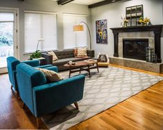 Mid-century inspired home design by TVL Creative