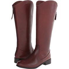 Trotters Logan Burgundy Calf Leather - 6pm.com
