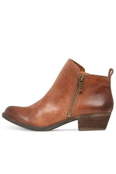 I already have these! I just need an outfit to go with them! Lucky Brand Basel Bootie