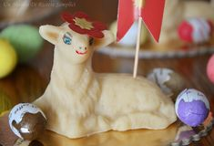Agnello di pasta reale Palm Sunday, Biscotti, Easter, Christmas Ornaments, Holiday Decor, Desserts, Crafts, Friday, Food