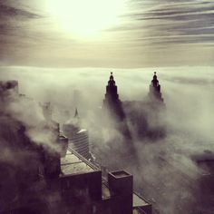 Liverpool waterfront fog picture wins city university student social media…
