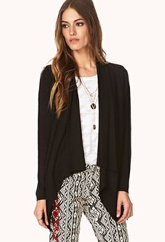 Off Day Draped Cardigan | FOREVER21 - 2000129452