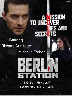 Richard Armitage, Berlin Station, Fernanda.