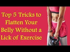 Top 5 Tricks to Flatten Your Belly Without a Lick of Exercise The waistline is the top body part that both men and women say they are most self-conscious abo. Self Conscious, Body Parts, Healthy Living, Exercise, Tops, Women, Ejercicio, Parts Of The Body, Healthy Life