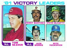 Jack Morris 1981 Victory Leaders Card 1982 - Topps  Card Number: 165