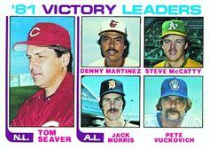 Jack Morris 1981 Victory Leaders Card 1982 - Topps  Card Number: 165