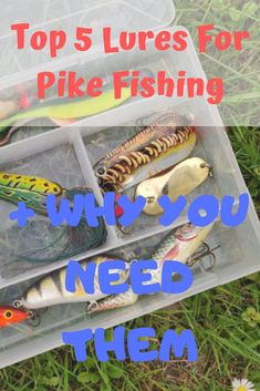Catching pike seems kinda like science, in particular for beginners. To unwrap the mystery I present you the Top 5 Lures For Pike Fishing you DEFINITELY NEED to catch BIG PIKE here. Pike Fishing Tips, Fishing Rigs, Fishing Knots, Gone Fishing, Fishing Places, Fishing Stuff, Fish Information, Fishing Tackle Shop, Fish Varieties