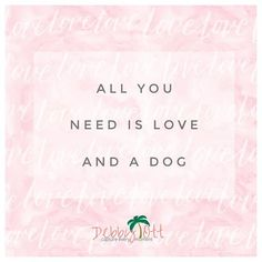 There is nothing greater than love and of course your dog 🐶. My 2 best friends are my hubby and my rat terrier Sarg 🐶.