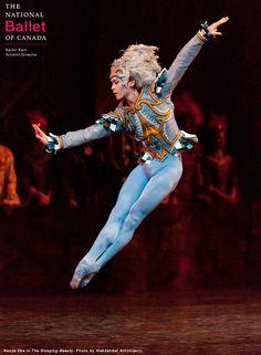 First Soloist Naoya Ebe as Bluebird in The Sleeping Beauty, choreographed by the legendary Rudolf Nureyev.