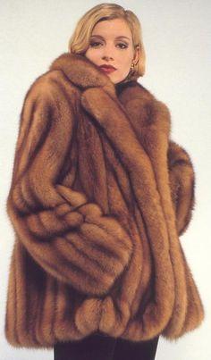 VERY pretty Sable Fur Jacket