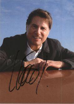 Udo Jürgens Aber bitte mit S sign ierte Original autogramm karte AK TOP 8499 UH
