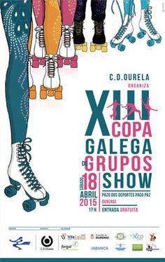 Copa Galega Grupos Show Patinaxe Artística en Pazo Dos Deportes Paco Paz, Ourense